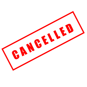 sept 8 meeting cancelled